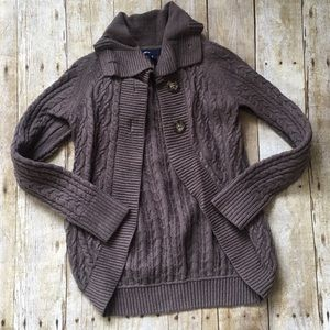 Gap cable knit sweater - size 8